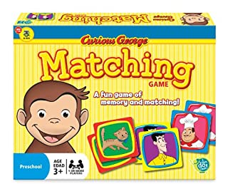 Wonder Forge Curious George Matching Game for Boys & Girls Age 3 and Up - A Fun & Fast Memory Game You Can Play Over & Over (B003F8HSAE)   Amazon Products