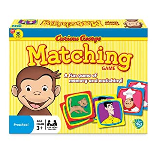 Wonder Forge Curious George Matching Game for Boys & Girls Age 3 and Up - A Fun & Fast Whimsical Memory Game