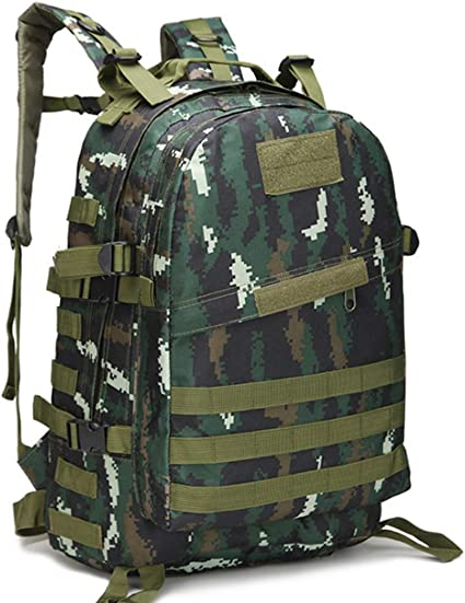 Men Women Outdoor Sport Backpack Large Waterproof  Military Hiking Rucksack Bag
