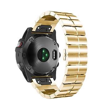 Pulsera para Garmin Fenix 5 x GPS Watch Repuesto de acero ...