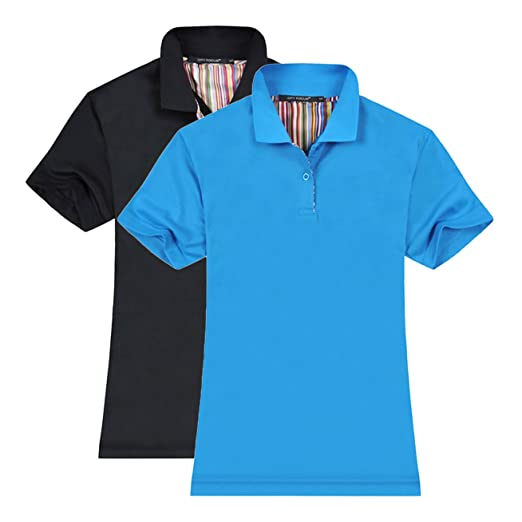 4adf3edf Averywin Polo Shirts Womens, T Shirts Short Sleeve Fashion Tops Sportswear  Pack of 2 (