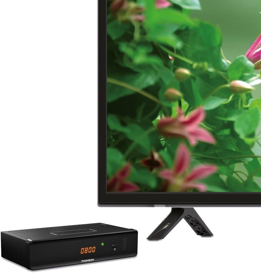 THOMSON THC301 - Receptor para televisión digital por cable DVB-C Full HD (HDTV, HDMI, SCART, USB, reproductor multimedios), color negro: Amazon.es: Electrónica
