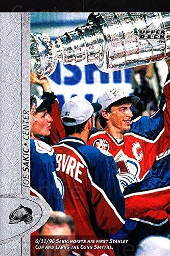 (CI) Joe Sakic Hockey Card 1996-97 Upper Deck (base) 240 Joe (Joe Sakic Hockey)