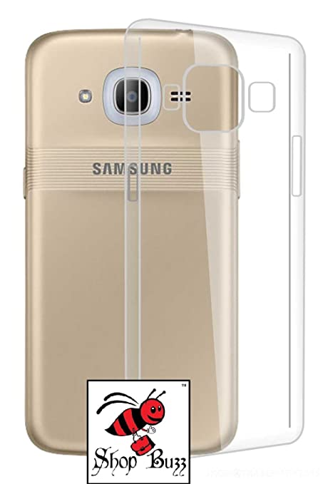 promo code 09891 6613b Shop Buzz Transparent Back Cover for Samsung Galaxy J2 2016 Edition - TPU  Silicon Back for Sam J2 (2016) / J2-6