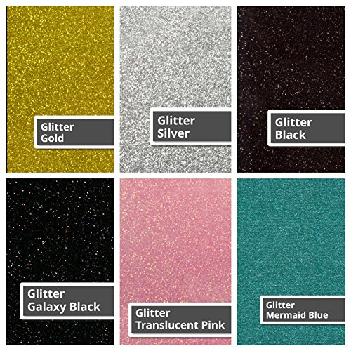 "Choose 3 Colors 12x15 Easyweed or 10/""x12/"" Glitter SISER EasyWeed Heat Transfer Iron On Vinyl"
