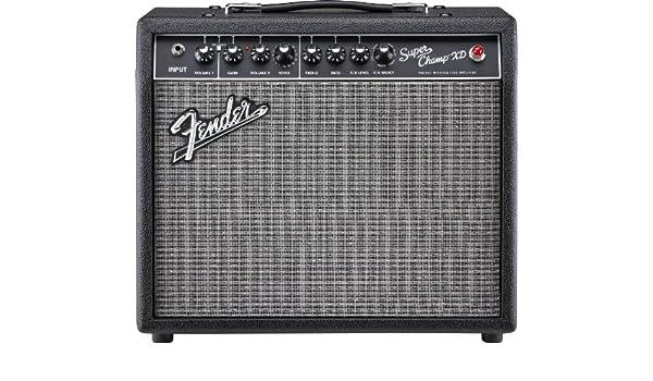 Fender Super Champ XD Amplificador de Guitarra Eléctrica: Amazon.es: Instrumentos musicales