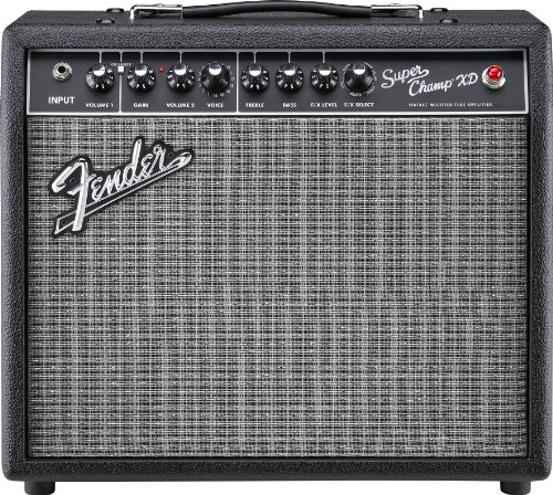 Fender Super Champ XD Electric Guitar Amplifier Champ Xd Guitar Amplifier