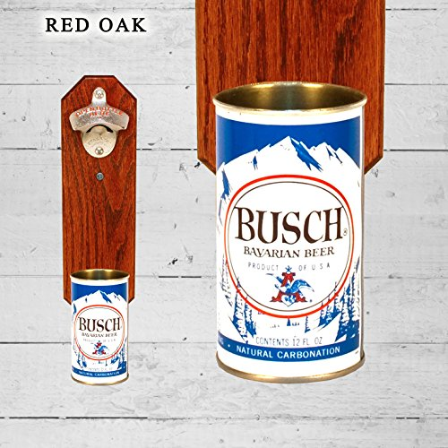wall-mounted-bottle-opener-with-vintage-busch-beer-can-cap-catcher