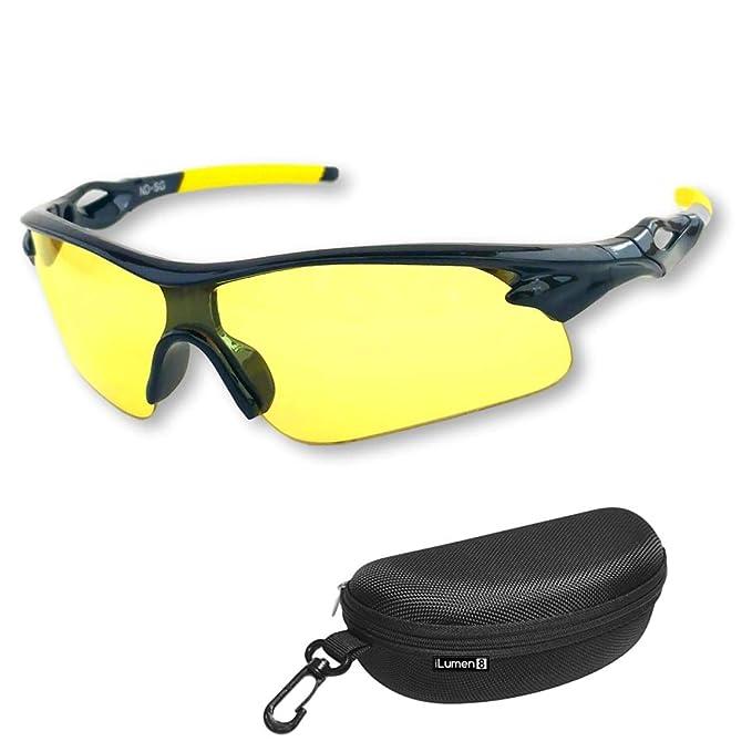 12c8d6934e95 BEST Night Driving Glasses- Anti Glare Night Vision Reduce Eye Strain Golf  Biking Riding Motorcycle: Amazon.ca: Clothing & Accessories