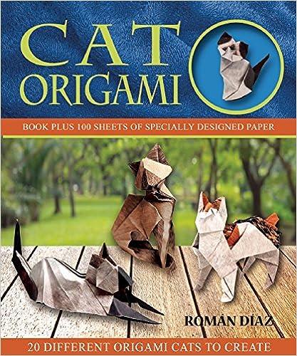 Book Cat Origami (Origami Books)