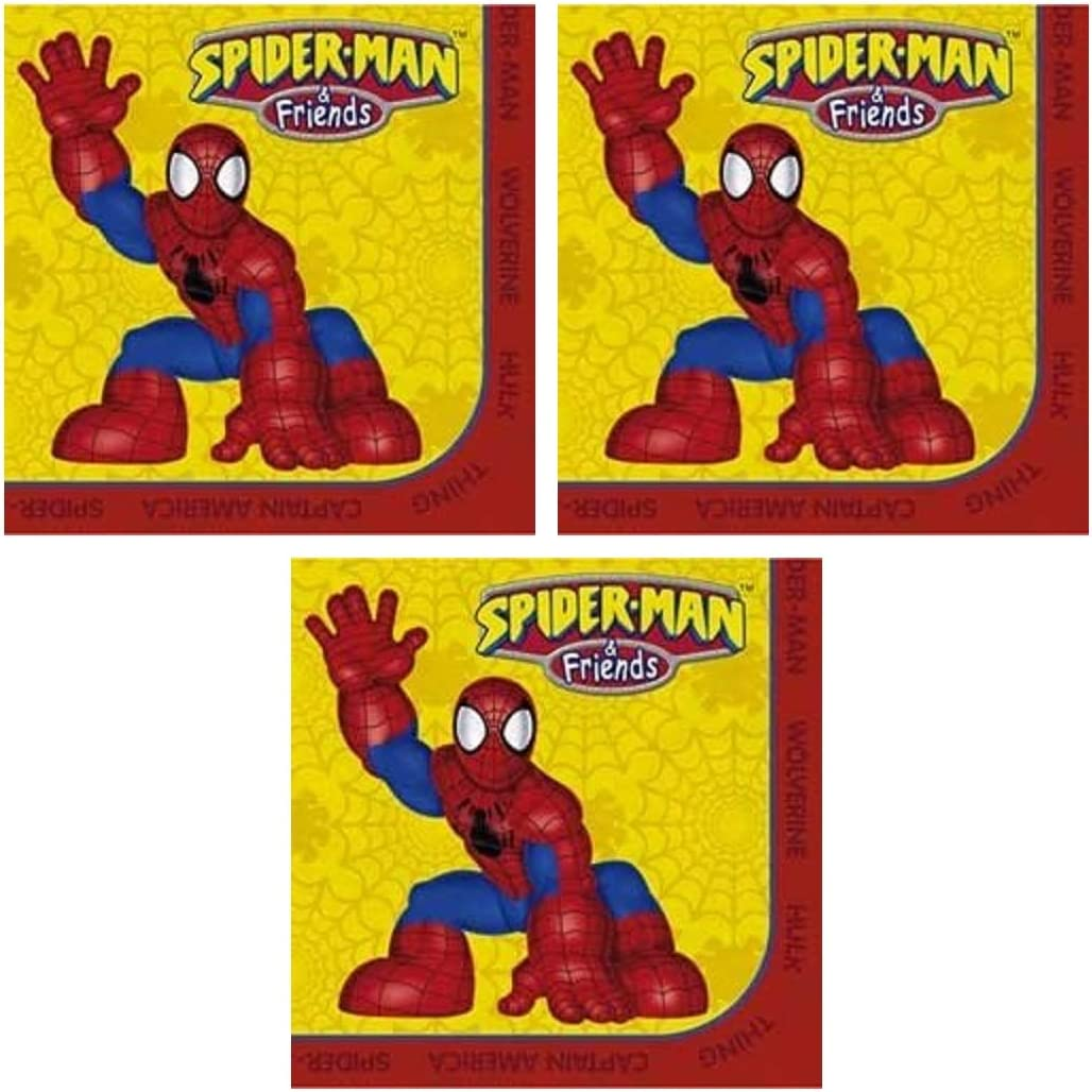 PARTY Marvel Spiderman and Friends Beverage Napkins - 48 Count
