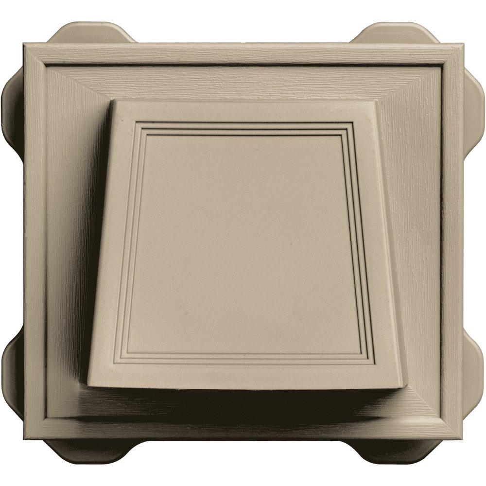 Builders Edge 140116774085 4 Hooded Dryer Vent 085, Clay by Builders Edge B00FI6WQAI