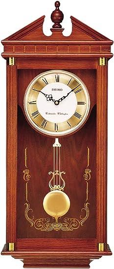 Seiko Regal Oak Wall Clock