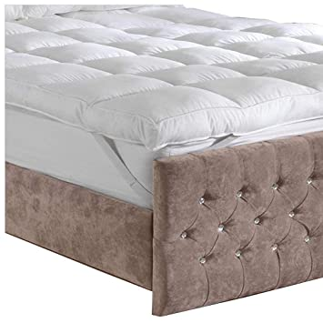 Lancashire Bedding Premium Extra Deep 10 Cm Thick 4 Inches
