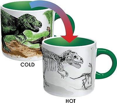 The Unemployed Philosophers Guild Disappearing Dino Mug