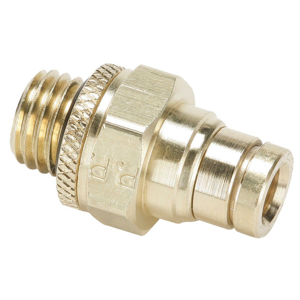 Parker 68PMT-6-M22 Push-to-Connect D O T  Fitting, Tube to Metric