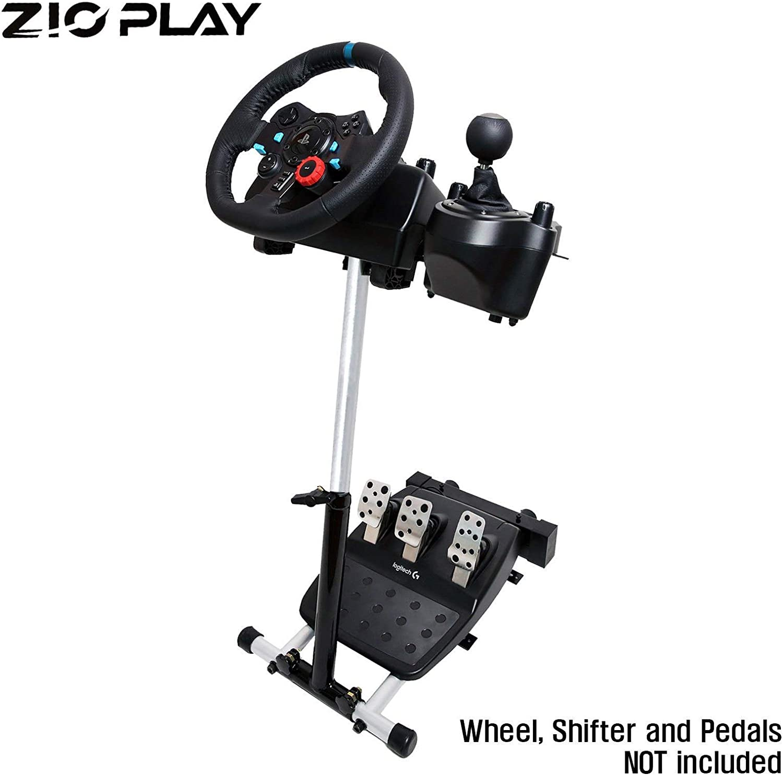 ZIOPLAY Racing Simulator Steering Racing Wheel Stand 4 For