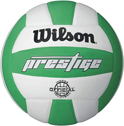 Wilson Prestige balón de Voleibol, White/Green: Amazon.es ...