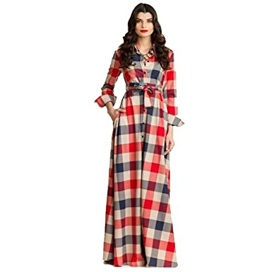 Image result for multi color plaid gown
