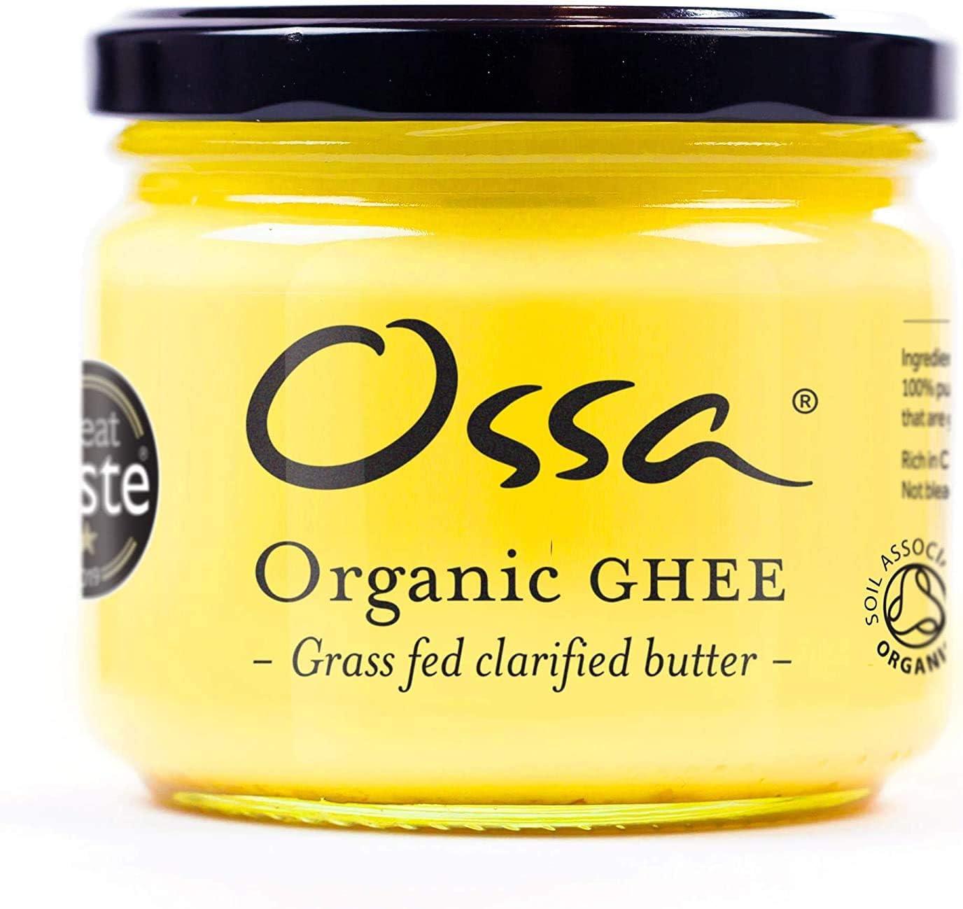 Ossa Organic Ghee | De las vacas de pasto británico | 256 g x6