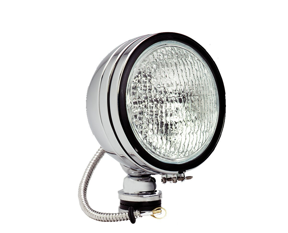 KC HiLiTES 1608 Daylighter Stainless Steel 100w Single Flood Light with Cover