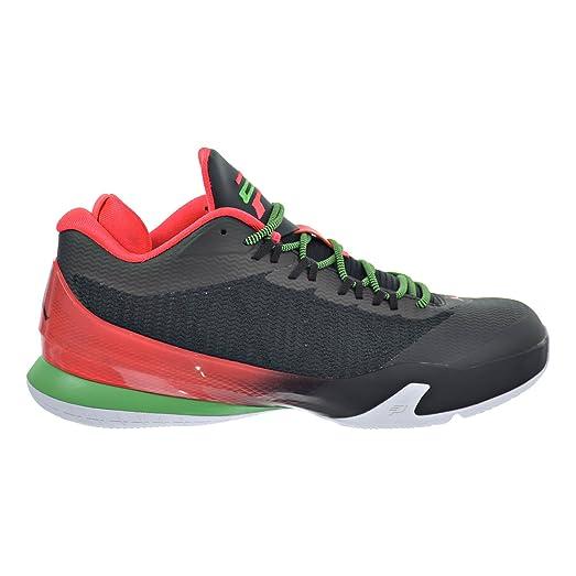 Jordan CP3.VIII Men's Shoes Black/Light Green Spark/Dark Grey/Infrared