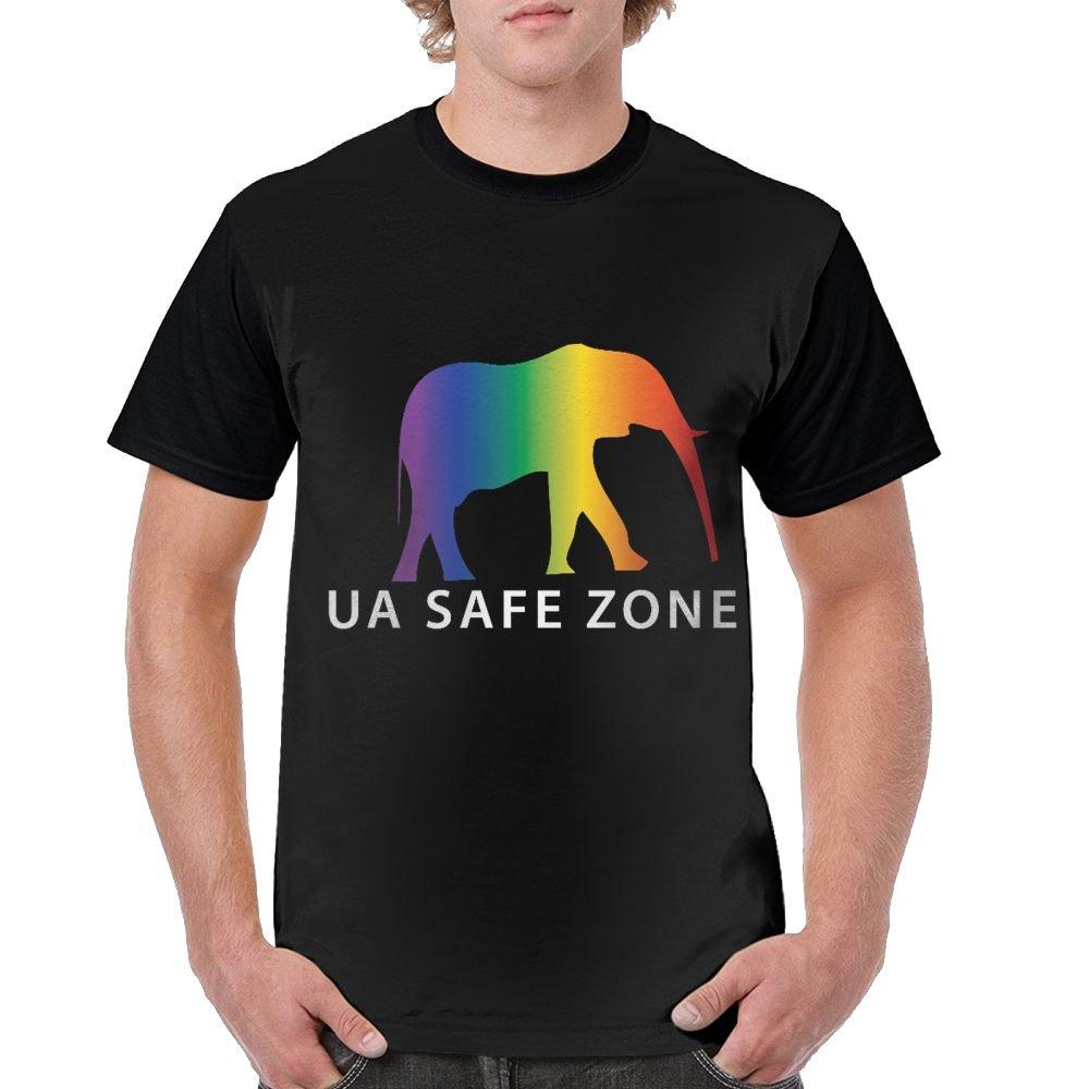 Ua Safe Zone Stylish Short Sleeved T Shirt 6074