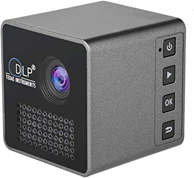 Mini Proyector Portátil 1080P,WiFi Proyector de Cine en Casa ...