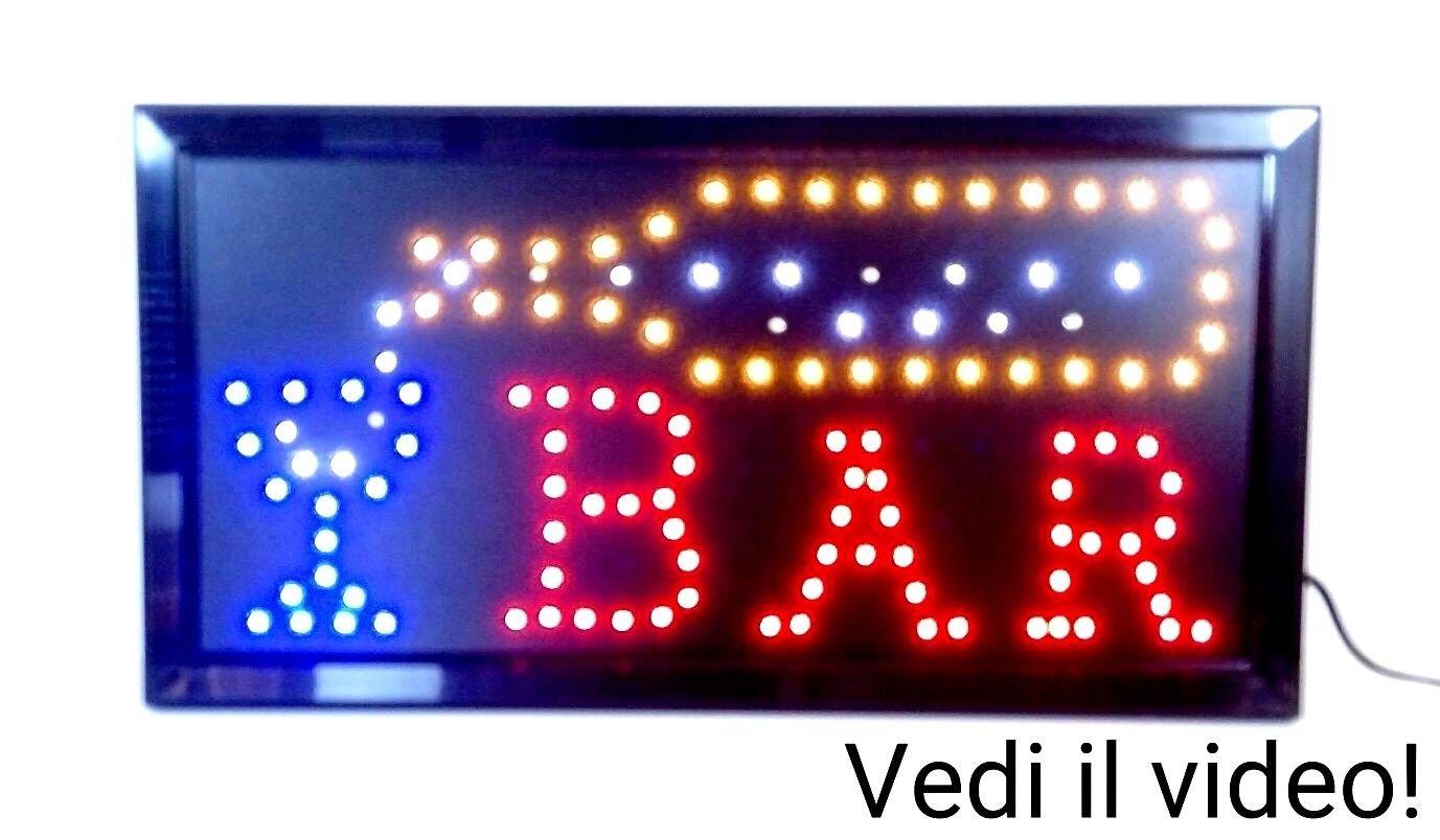 Om Cartel Luminosa iluminación a led con Texto Abierto ...