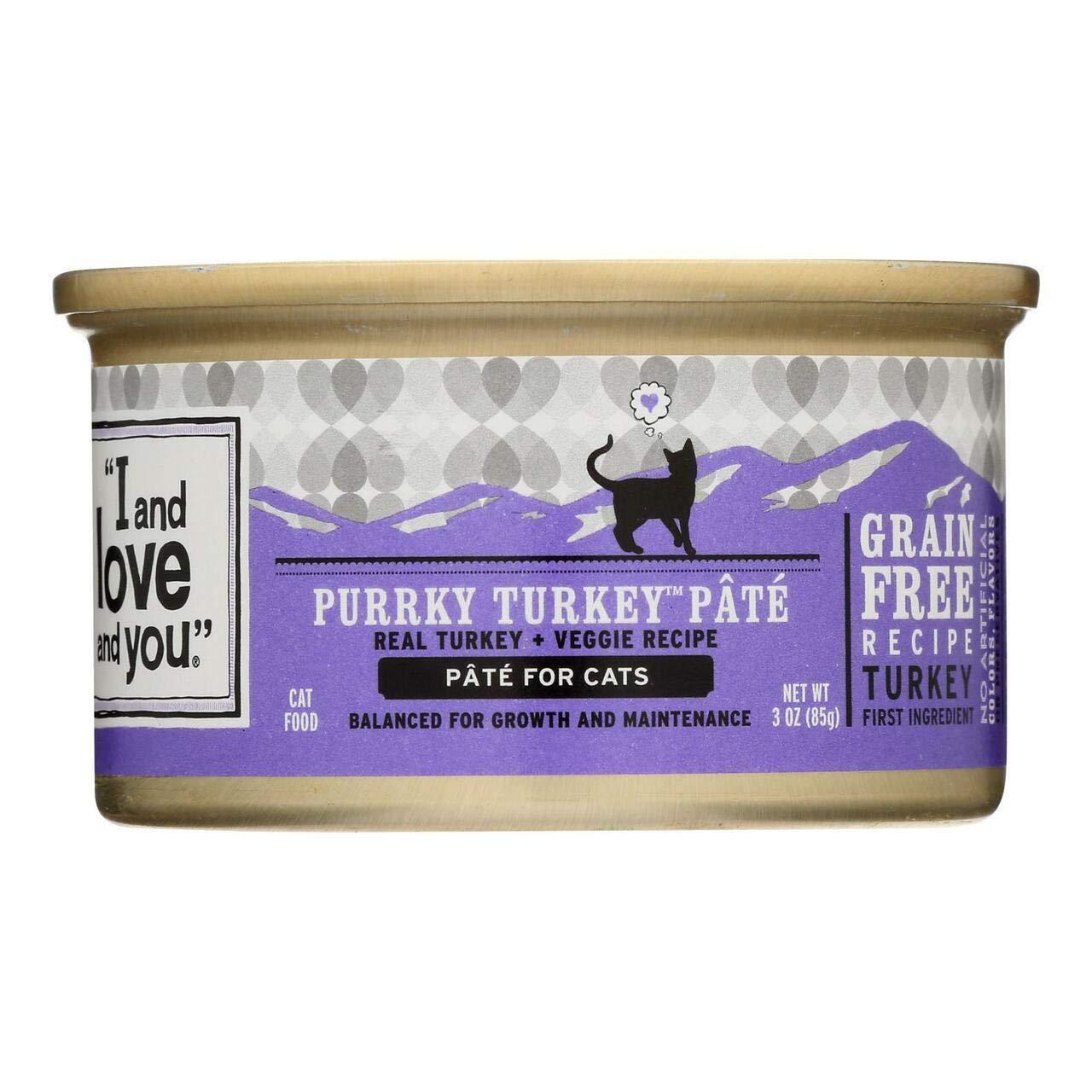 I&Love&You Cat Food Porky Try Pa, 3 oz