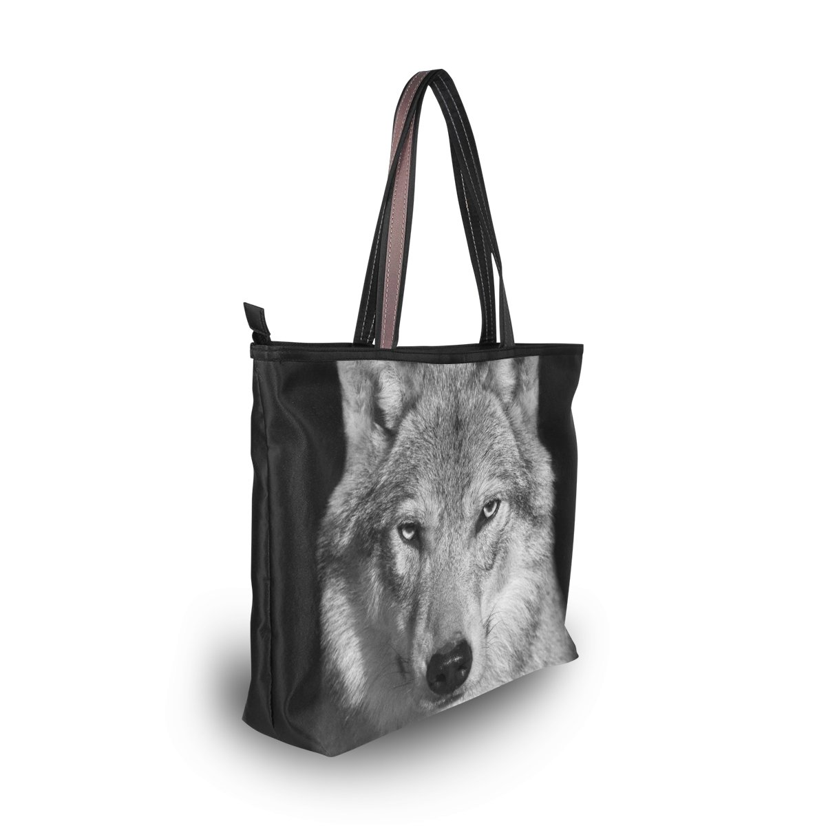 Borsa Lupo ALAZA it Animal Spalla Grande Borsa Amazon Wild Scarpe CO6q5U6w