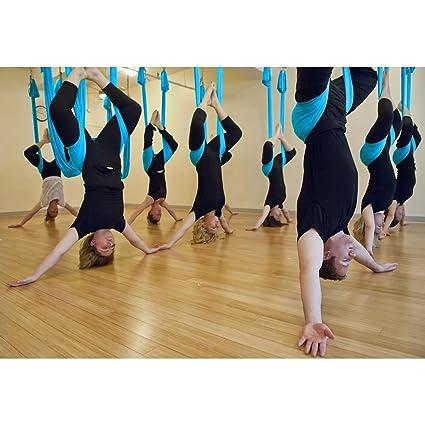 Amazon.com : Jaidee shop New Large Bearing Yoga Swing Sling ...