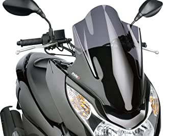Puig 5569f Windshield Touring For Maxiscooter Honda Pcx 125 2010