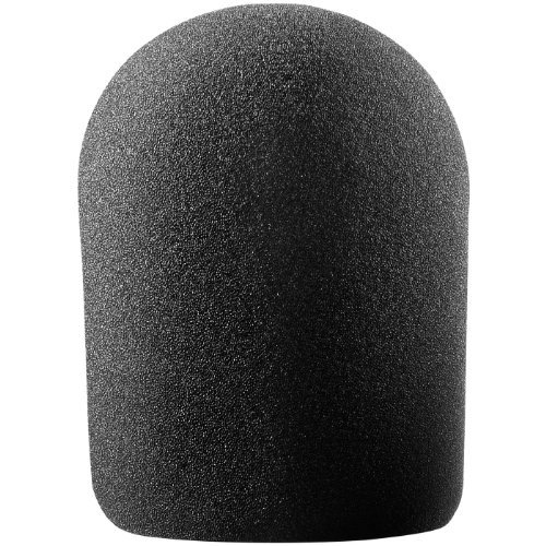Audio Technica AT8137 Large Studio Foam Windscreen (Black) [並行輸入品] B078963QBP