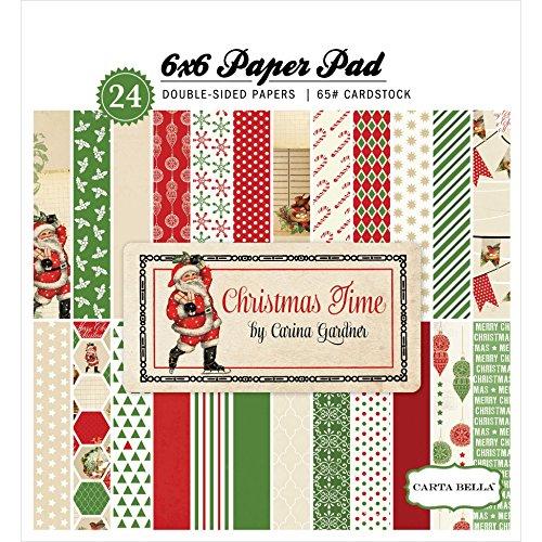 Carta Bella Paper Company Christmas Time Paper Pad