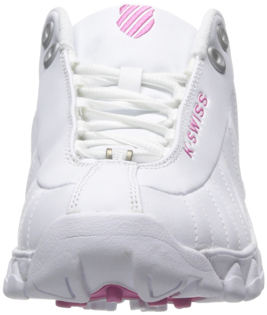 K-Swiss Shoe Women's ST329 CMF Training Shoe K-Swiss B00RBOLB92 5 B(M) US|White/Shocking Pink a6ef4f