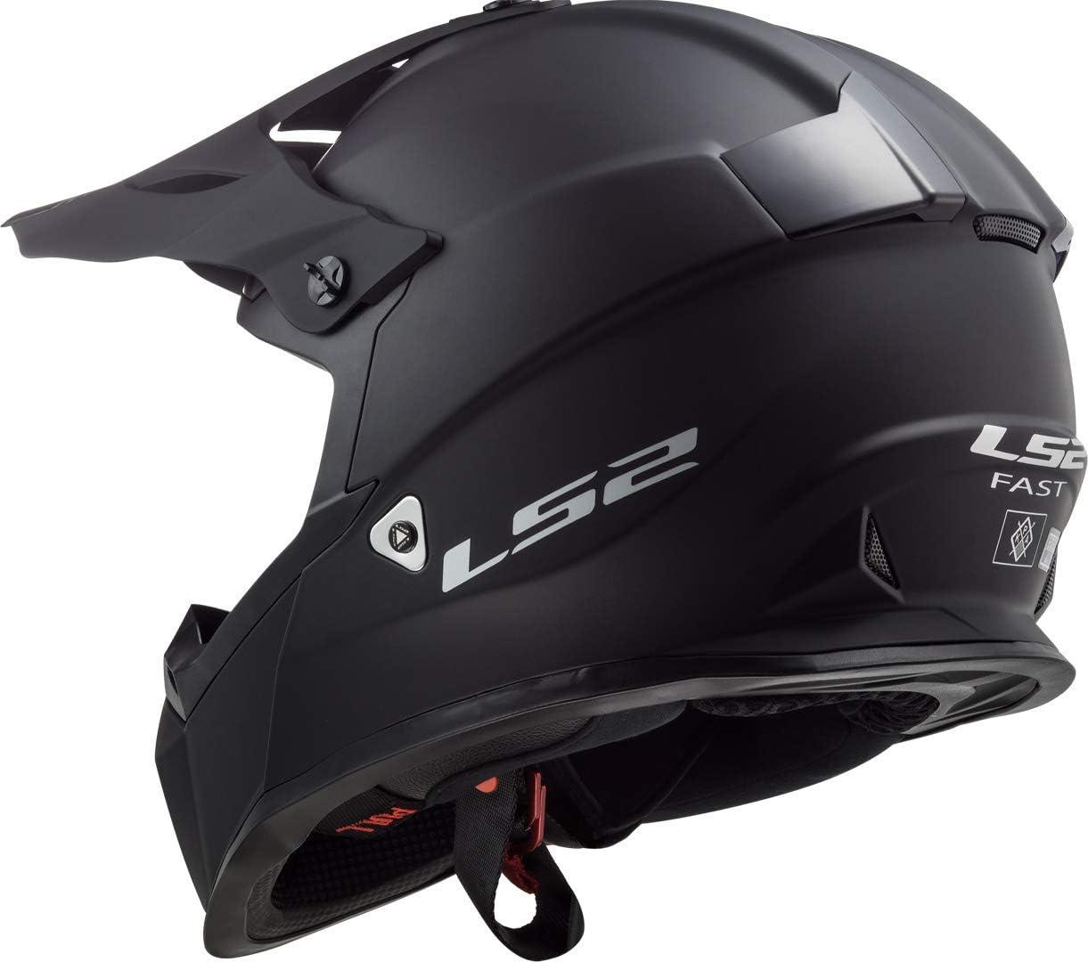 LS2 Fast MX437 Solid Motocross Helm XXL