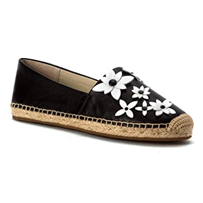 659a64cea6251f Amazon.com | Michael Michael Kors Womens Lola Leather Closed Toe Casual  Espadrille Sandals | Loafers & Slip-Ons