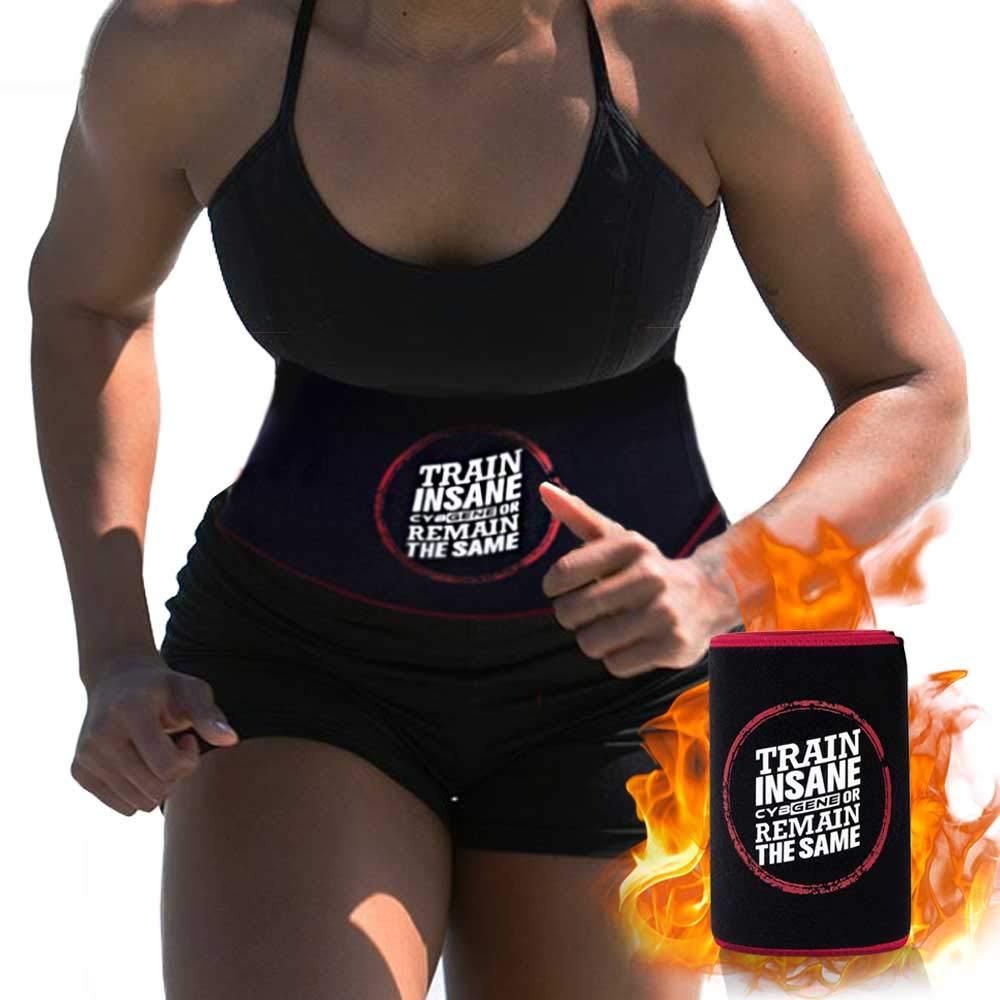 CybGene Waist Trimmer Trainer Sweat Sauna Corset Stomach Wrap for Weight Loss Men Women