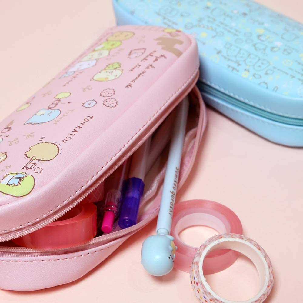 Pencil Case Pen Holder Round Design Pencil Bag 02 Sumikko Gurashi