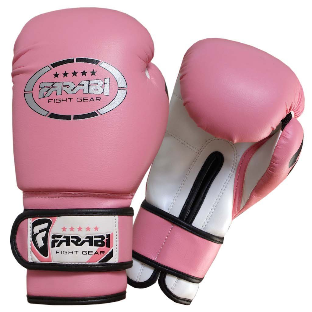 Mens gloves sports direct - Junior Kids 6 Oz Pink Boxing Gloves Sparring Training Bag Mitt Gloves Free Shipping By Farabi Sports