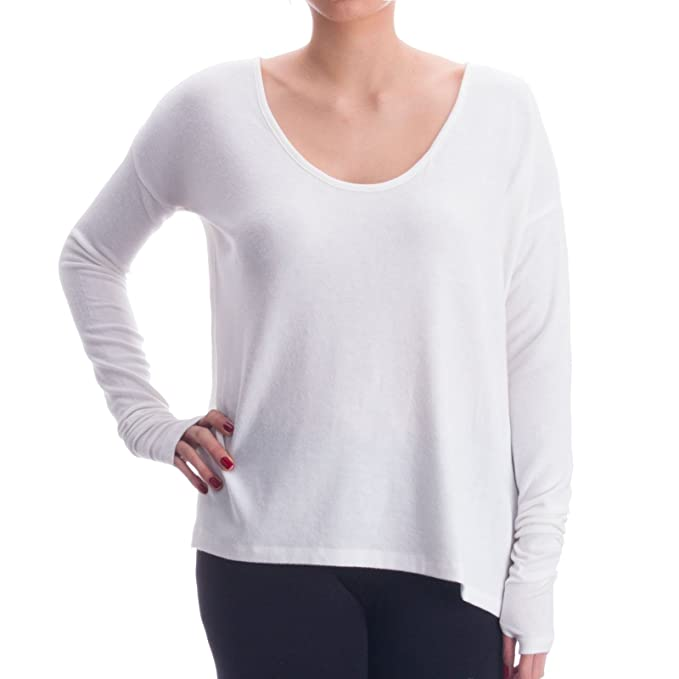 PLW Camiseta Manga Larga para Mujer Yoga Pilates Homewear ...
