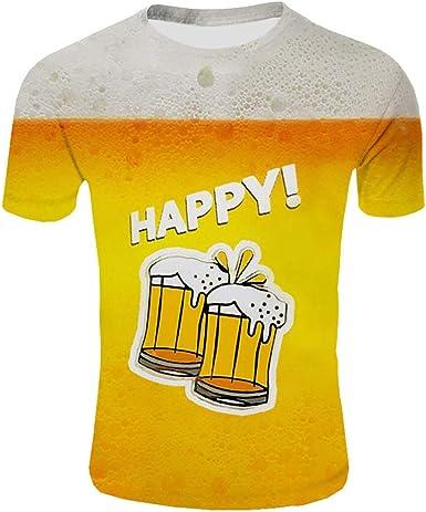 Camiseta del Hombre Festival de la Cerveza del Padre Parte ...