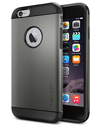 Image Unavailable. Image not available for. Color  Spigen Slim Armor iPhone  6 ... 6d94443d6b