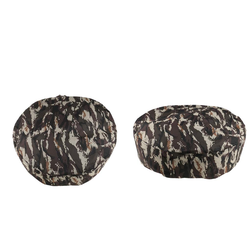 MagiDeal 2pcs 15''/14'' Universal Camo Car Truck Van Rear Spare Tire Tyre Wheel Cover by Unknown (Image #5)