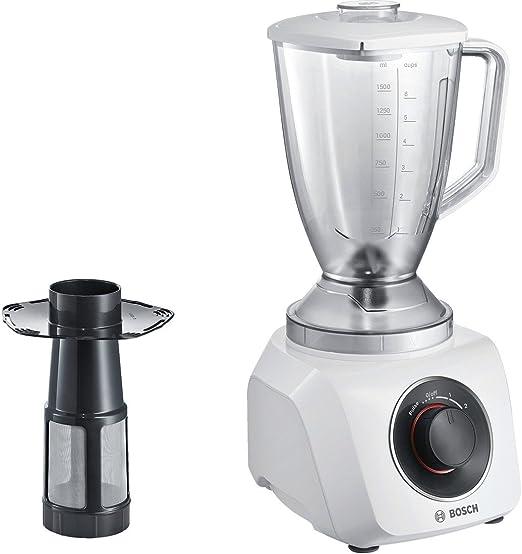 Bosch MMB21P1W - Licuadora (2,4 L, Giratorio, Batidora de vaso ...