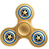 Yesorno Mini Hand Fidget Spinner Metal toy , 3 mins + Spin Time, One hand operation