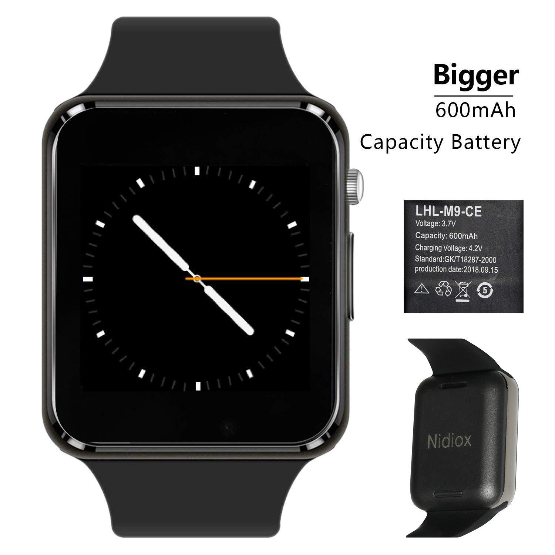 Amazon.com: Nidiox Smart Watches Bluetooth Smart Watch A1 ...
