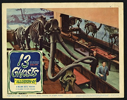 13 Ghosts (1960) Original 11x14 Scene Lobby Card Movie Poster Very Good Condition]()