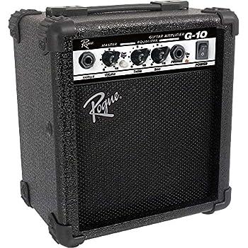 rogue g10 10w 1x5 guitar combo amp black musical instruments. Black Bedroom Furniture Sets. Home Design Ideas